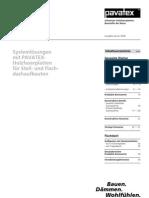 Pavatex - Das Dach - Technische Dokumentation(2)