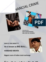 Financial Crime in India