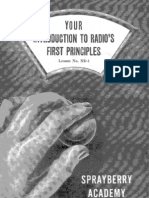 Lesson ND-1, Introduction to Radios - First Principles
