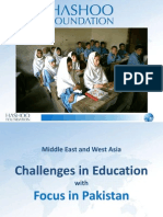 """Challenges in Education in Pakistan Presentation for Rotary International Books for the World """"Booklegger Summit III"""" League City, January 20-21 2013"""