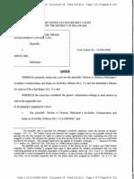 EMC Corp., et al. v. Zerto, Inc., C.A. No. 12-956-GMS (D. Del. Jan. 14, 2013).