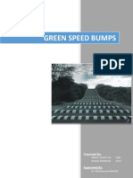 Energy Production Using Speed Bumps