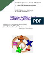 Optional -Matematica Distractiva. Cls 4