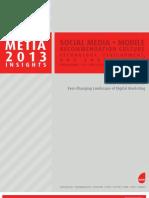 Metia 2013 Marketing Trends Report