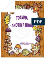 PROIECT TEMATIC TOAMNA-ANOTIMP BOGAT