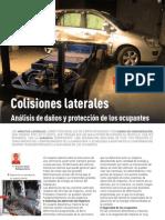COLISIONES LATERALES analisis de daños y proteccion de ocupantes