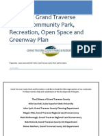 Draft 2013-2018 Grand Traverse County Community Parks, Recreation, Open Space and Greenways Plan.