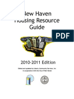 New Haven housing Resource Guide