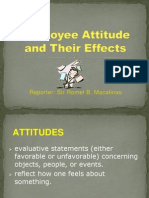 employee attitudes