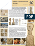 conservation of a neolithic plaster statue