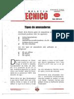 Levapan Boletin Tecnico 030 - Tipos de Amasadoras