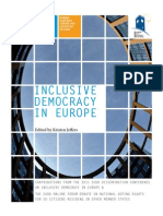 Inclusive Democracy in Europe
