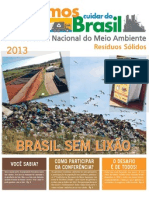 4 confrencia do meio ambiente - 2013 - resduos slidos