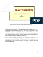 151 Beauty Secrets - Got Hold of, Exclusively for You