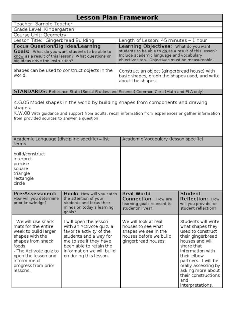 Team sample lesson plan educational assessment psychology team sample lesson plan educational assessment psychology cognitive science saigontimesfo