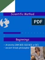 scienific method