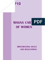 ra 9710 - magna carta of women