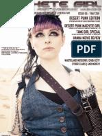 Machete Girl Issue 5 Desert Punk Edition
