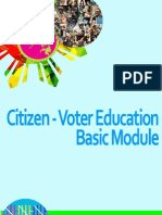 IPER Citizen-Voter Education Basic Module