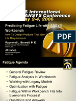 Ansys wb fatigue analysis