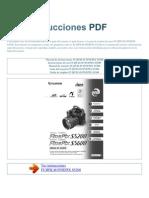 Manual de Instrucciones FUJIFILM FINEPIX S5200 S