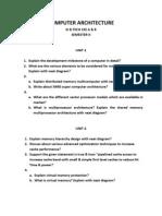 ComputerArchitecture Question Bank