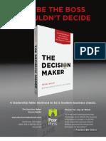 The Decision Maker by Dennis Bakke (Introduction)