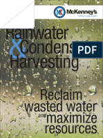 Efficient Solutions for Rainwater and Condensate Harvesting Systems