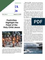 NARMA Bulletin (January 23, 2013)