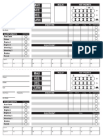 Axles And Alloys 2  - Character Sheet