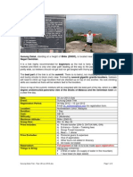 Gunung Datuk Trek Itinerary