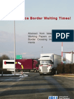 Reducing Border Waiting Times