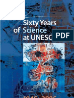 SIXTY YEARS OF SCIENCE AT UNESCO
