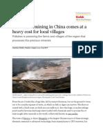 Rare Earth Mining