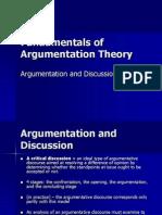 Fundamentals of Argumentation Theory
