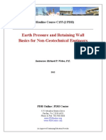 Earth Pressure and Retaining Wall