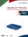 Manual SpeedTouch 706 WL