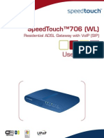 Manual SpeedTouch 706 WL