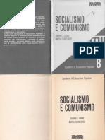 Socialismo e Comunismo - Quaderno 8