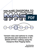 Hacking Diaspora to Mass Effect v2.02
