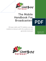 The Mobile Handbook for Broadcasters