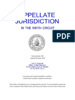 Ninth Circuit Appellate Jurisdiction Outline - 9th Circuit