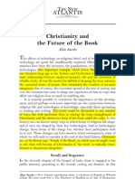 christianity and the book
