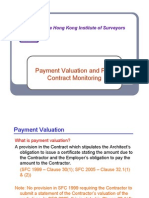 Payment Valuation