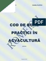 Cod de bune practici in acvacultura