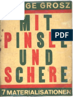 George Grosz-Mit Pinsel und Schere 7 Materialisationen
