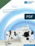 Máquinas de punto en zigzag para coser materiales medianos Durkopp Adler 525,527,528