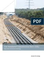 gas insulated lines