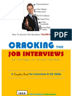 Cracking The Job Interviews