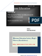 Indian Education, Human Rights and Philosophy